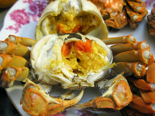 Steamed Hairy Crab 清蒸大閘蟹 | Chinese Recipes at ...