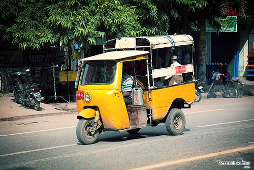 Tuk-Tuk en Mandalay (Myanmar)