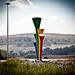 Vuvuzela monument, Soccer City, Soweto, Johannesburg, South Africa