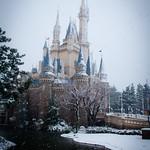 東京ディズニーランド (雪景色)