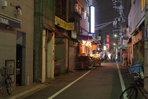 Tsukiji jo-gai night street