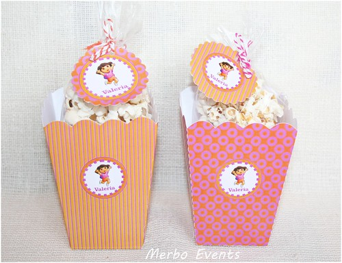 Pop corn box Dora Merbo Events