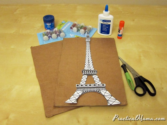 Glittery Eiffel Tower
