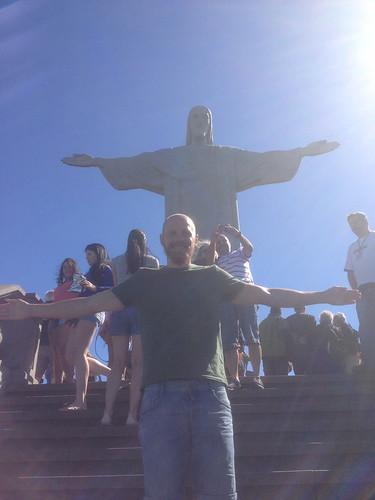 Christ the Redeemer - Rio de Janeiro, August 2013