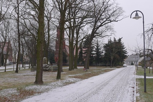 Vereiste Dorfstraße