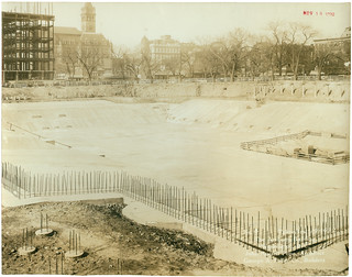 Photograph of the National Archives Building Being Constructed, 11/14/1932