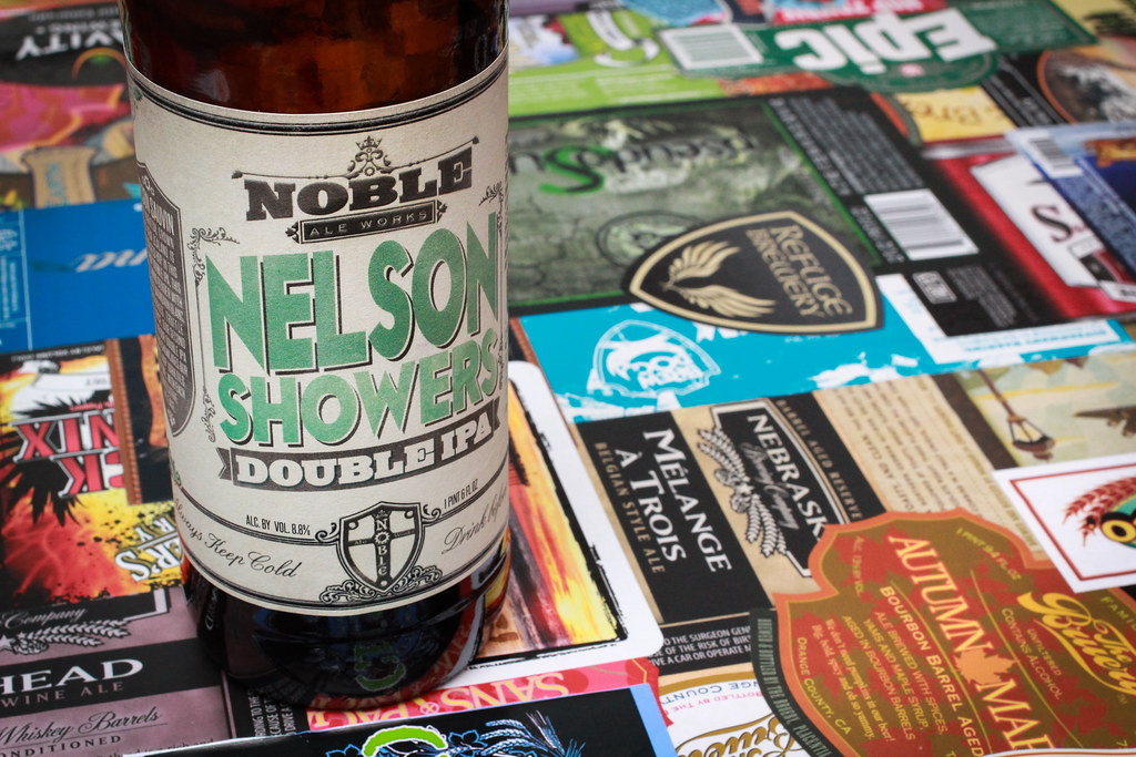 New Brew Thursday :  Nelson Showers : Noble Ale Works with special guest Gregory Nagel