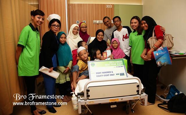 Daniel Asyraaf Rashid, KPJ Ampang Puteri Specialist Hospital