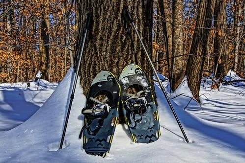 winter snow hiking snowshoeing snowshoes hdr tubbs hudsonvalley newyorkstateparks dutchesscountynewyork stonykillfarm newyorkdec stonykillfarmenvironmentaleducationcenter tubbssnowshoes sonyslta65v stonykillfarmtrail wappingernewyork