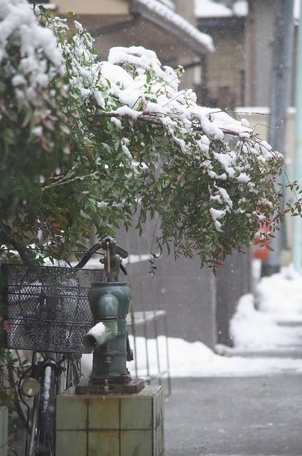 東京路地裏散歩 東京雪景色 Tokyo snow day 2014年2月14日