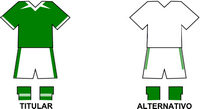 Uniforme Selección Domingo Robledo de Fútbol