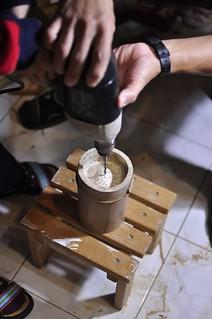 20131227-在竹節中心點鑽洞-1
