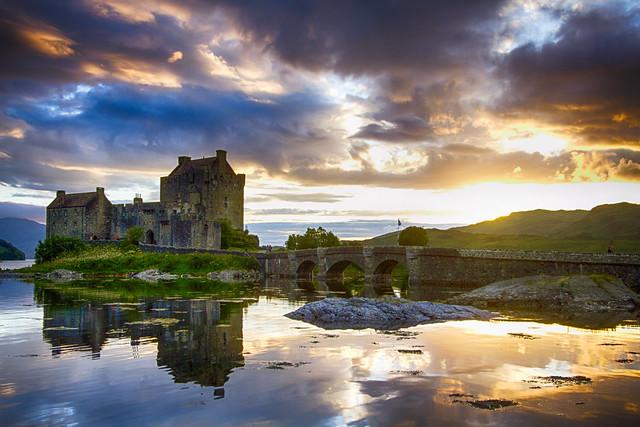 Eilean Donan Castle - Highlander Movie - Scotland