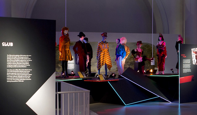 Installation image of From Club to Catwalk: London Fashion in the 1980s