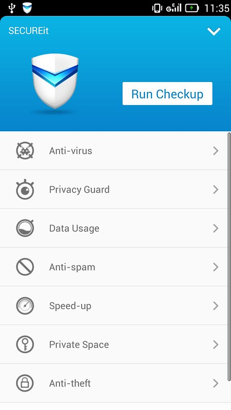 Lenovo SECUREit App