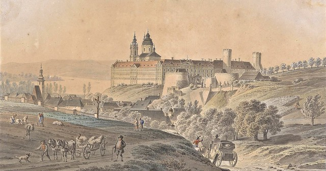 Anonymous - Ansicht von Stift Melk (c.1835)