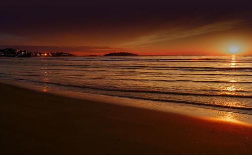 sunset beach night cloudy newengland alpha gloucesterharbor a65 sonyalpha gloucestermass