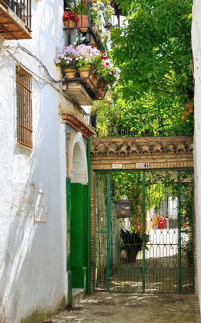 Granada albaic n carmen del alba carmen granadino for Ciudad jardin granada