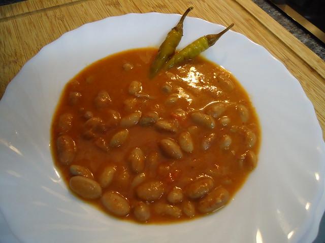 Mis recetas de cocina guiso de alubias pochas con verduras - Guiso de judias pintas ...