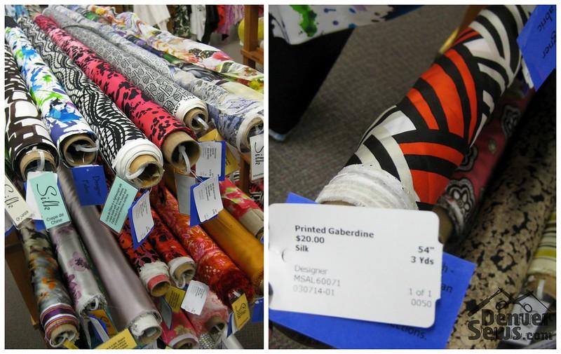 Designer Fabrics - Silks