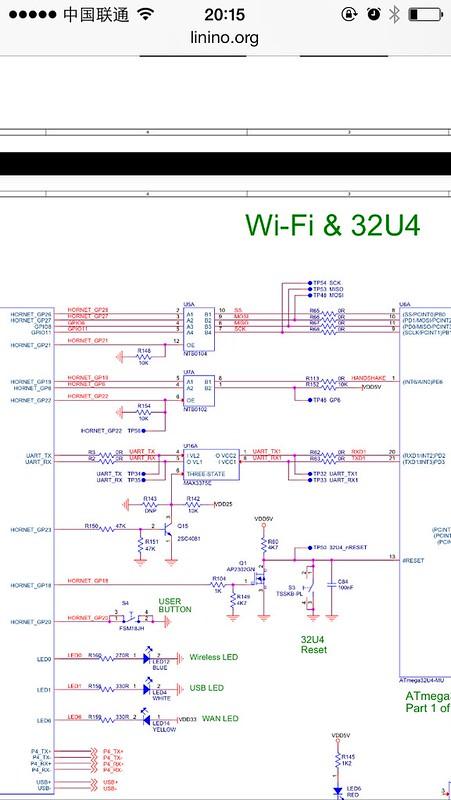 arduino yun/硬件连接
