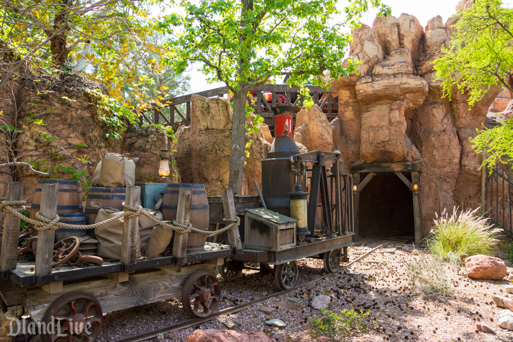 Big Thunder Mountain Railraod