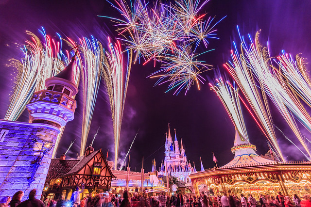 Fireworks Friday:  Colorful Wishes