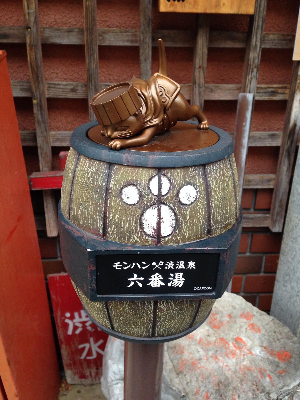 Shibu Onsen Cat No 6