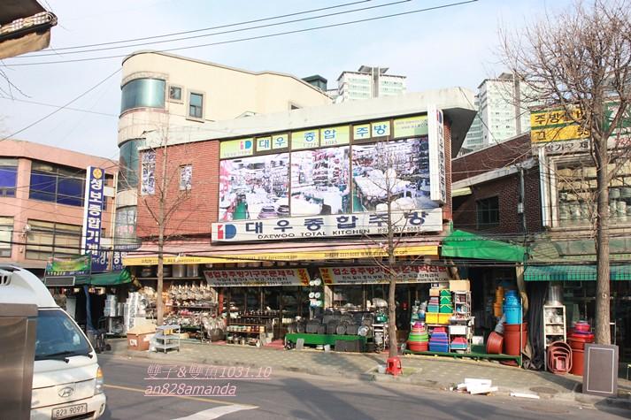 5首爾中央市場.黃鶴洞廚房具街황.炒大腸街.Homeplus