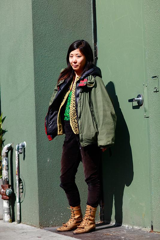 yuka_val Quick Shots, San Francisco, street fashion, street style, Valencia Street, women