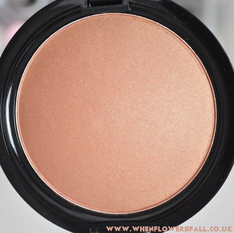 whenflowersfall, beauty, review, w7, bronze shimmer, bronzer,