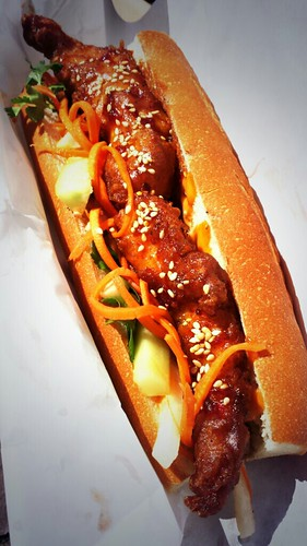 Saigon Fried Chicken Banh Mi from Rua