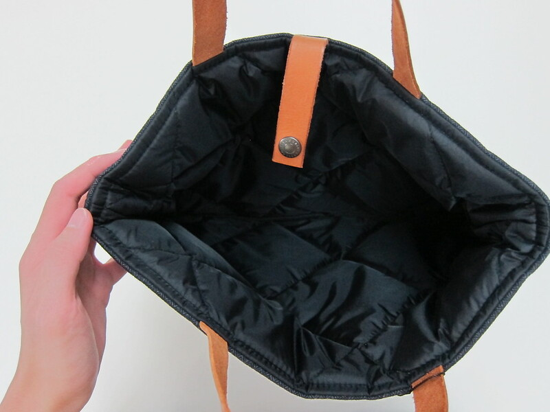 Fabrix Laptop Carrier Bag - Main Padded Compartment