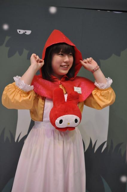 サンリオピューロランド My Melody in Akazukin 赤メロ