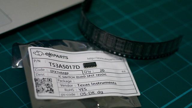 TI TS3A5017