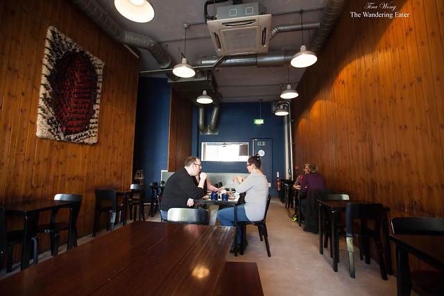Interior of Nordic Bakery (Soho location)