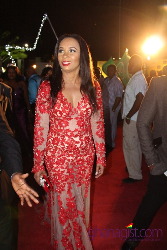 Ibinabo Fiberesima at Africa Movie Academy Awards 2014