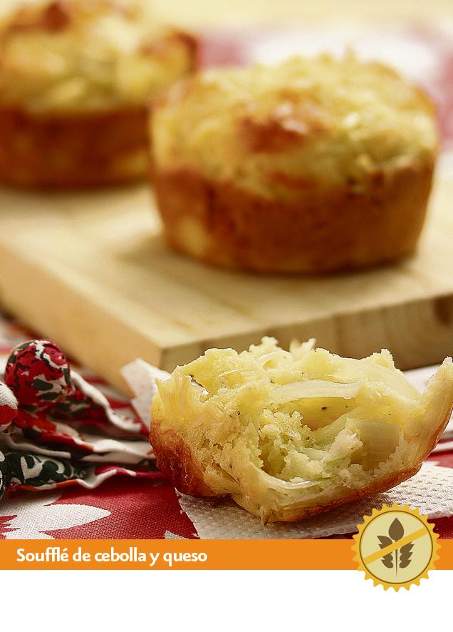 SoufflEde cebolla  y queso