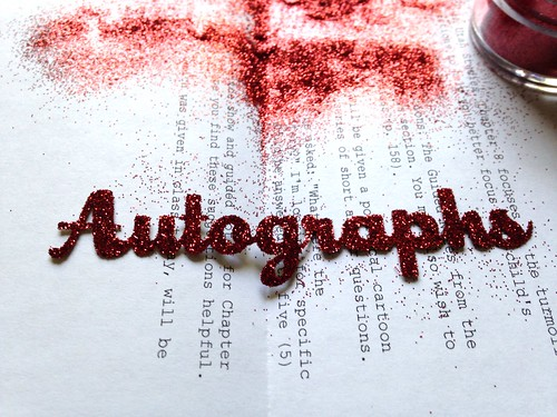 autograph_red glitter