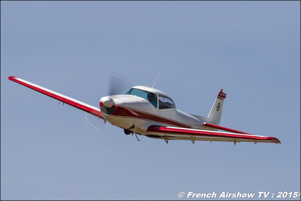 Navion F-AYJF,Fly'in Saint-Yan 2015,Fly in LFBK 2015, Meeting Aerien 2015
