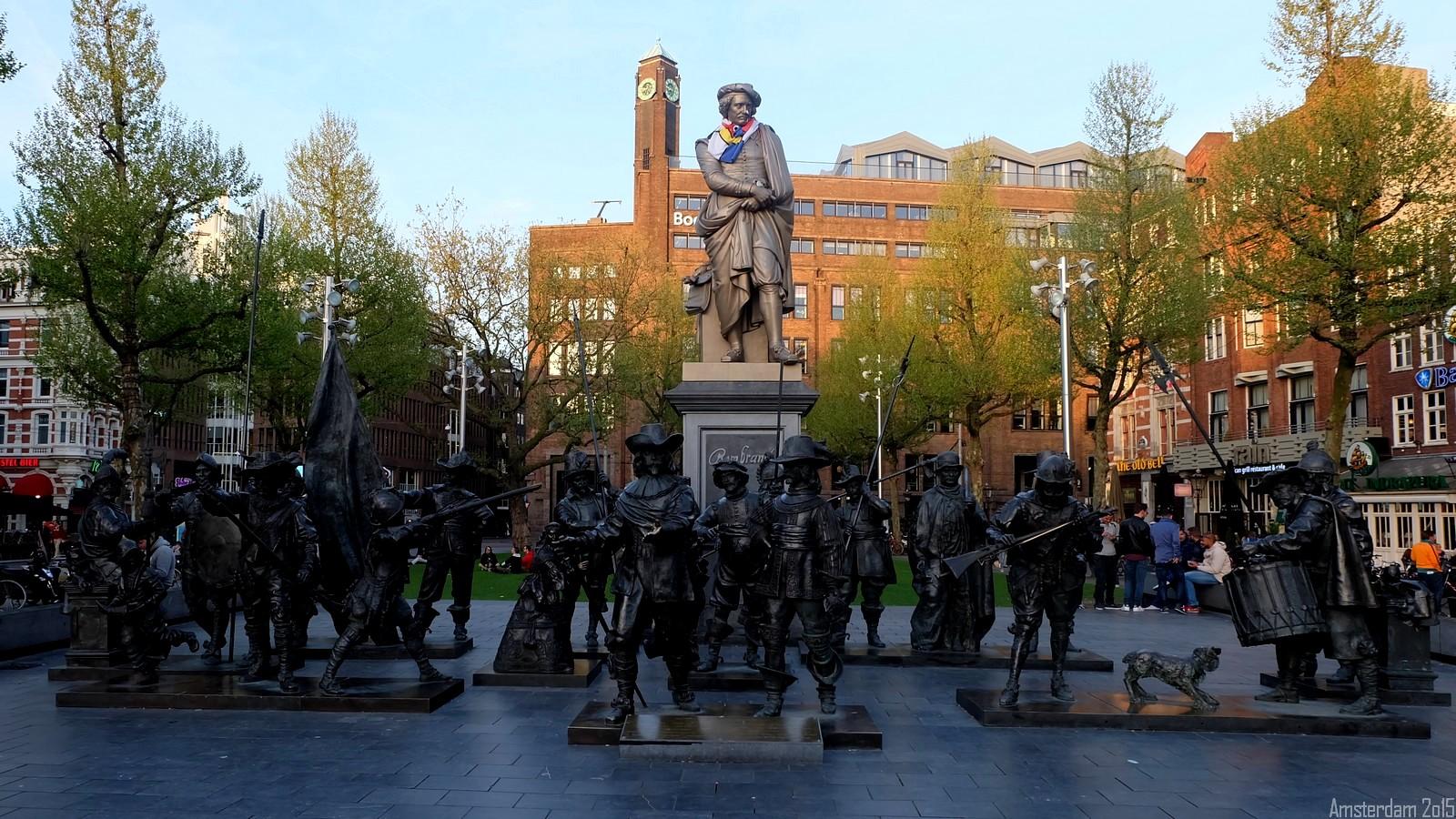 Rembrandtplein, Amsterdam, Nederland