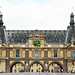 The Louvre at the end of the Pont du Carrousel by Monceau