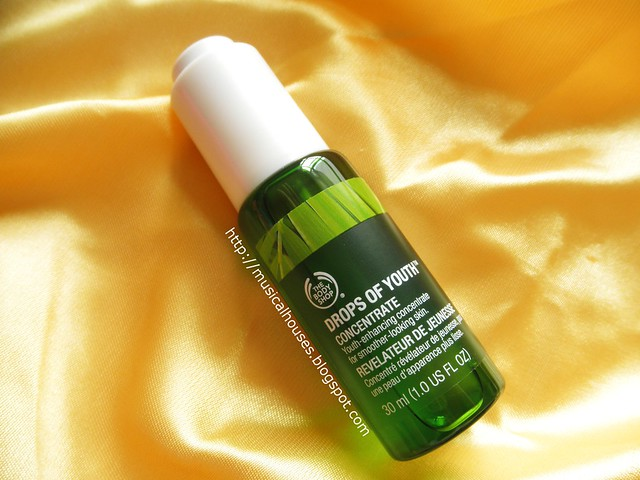 The Body Shop Drops of Youth Concentrate Bottle