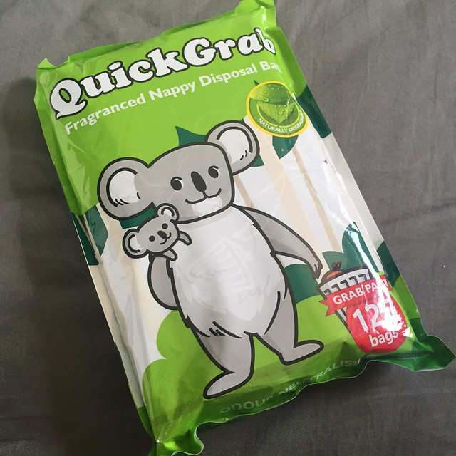Quick grab nappy bags