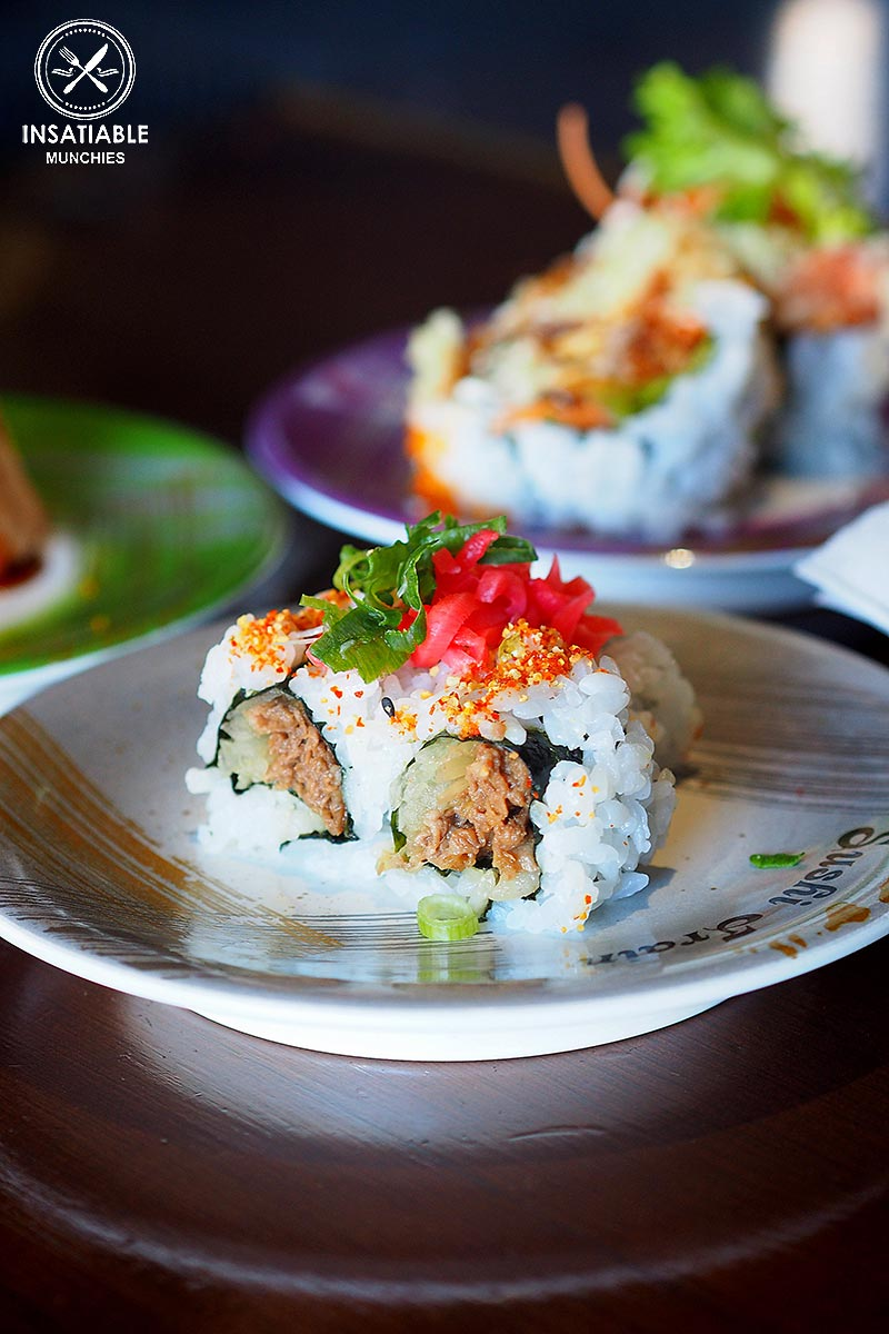 Sydney Food Blog Review of Sushi Train, Neutral Bay: Spicy Wagyu Roll