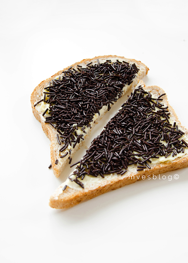 Hagelslag, comida típica Holandesa.