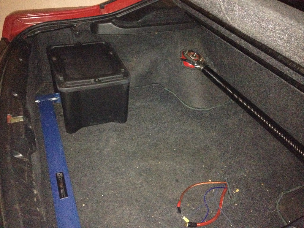 Battery Relocation To The Trunk  S13