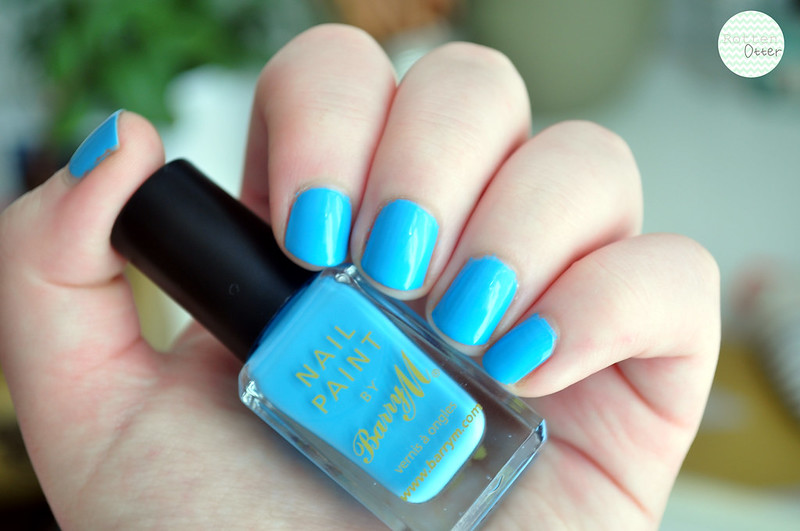 barry m blueberry ice cream nail polish notd rottenotter rotten otter blog 2