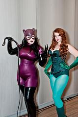 latex clothing(1.0), clothing(1.0), purple(1.0), lady(1.0), costume(1.0),