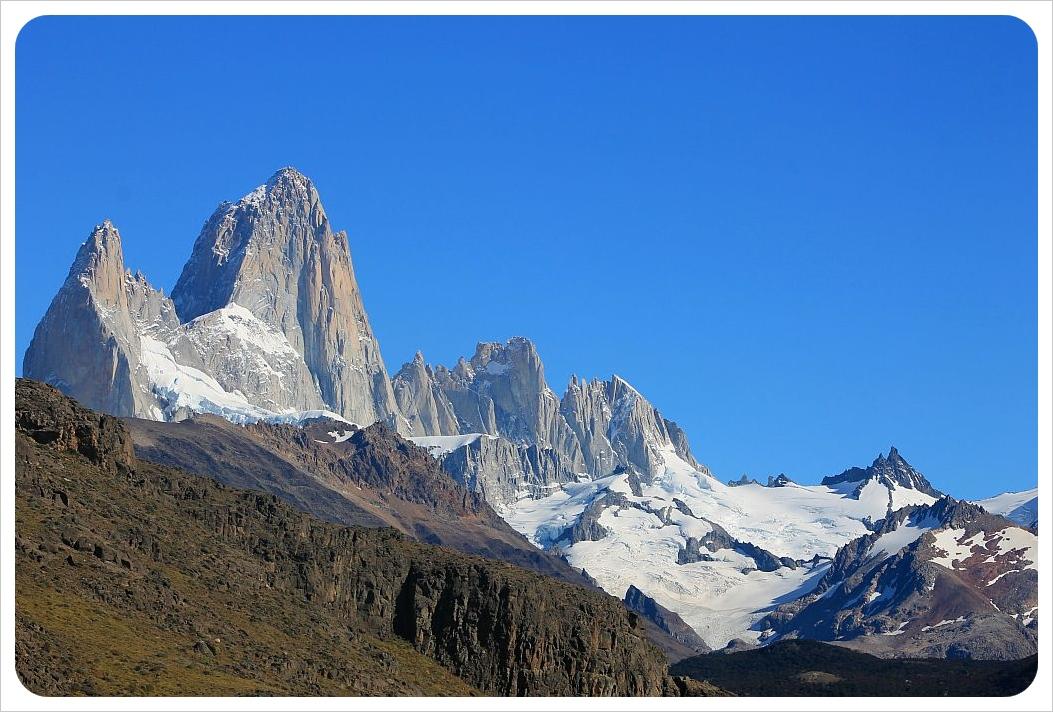 el chalten mountain tops